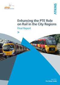Enhancing the PTE role on rail in the city regions