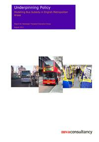 Modelling bus subsidy in English Metropolitan Areas
