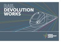 Rail Devolution Works