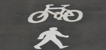 Cycling and walking