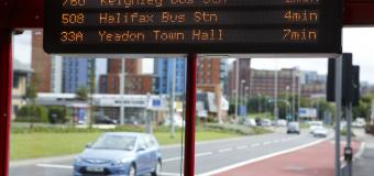 YourNext Bus real time display West Yorkshire