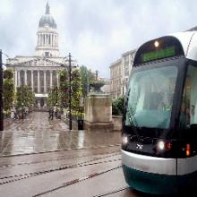 Nottingham's light rail system