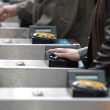 TfL's Oyster smart card provides an easy and flexible alternative to cash fares (c) Transport for London