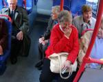 Concessionary pass holders on bus