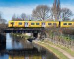 Merseyrail Train over water