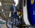 Cycles on the train at Sheffield