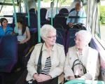 Passengers on a bus in South Yorkshire